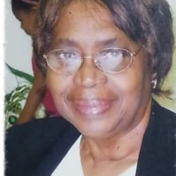 Eva Mae Brinson ( April 1, 1941 – March 29, 2018)